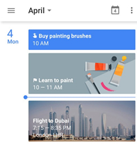 Google Calendar for Android